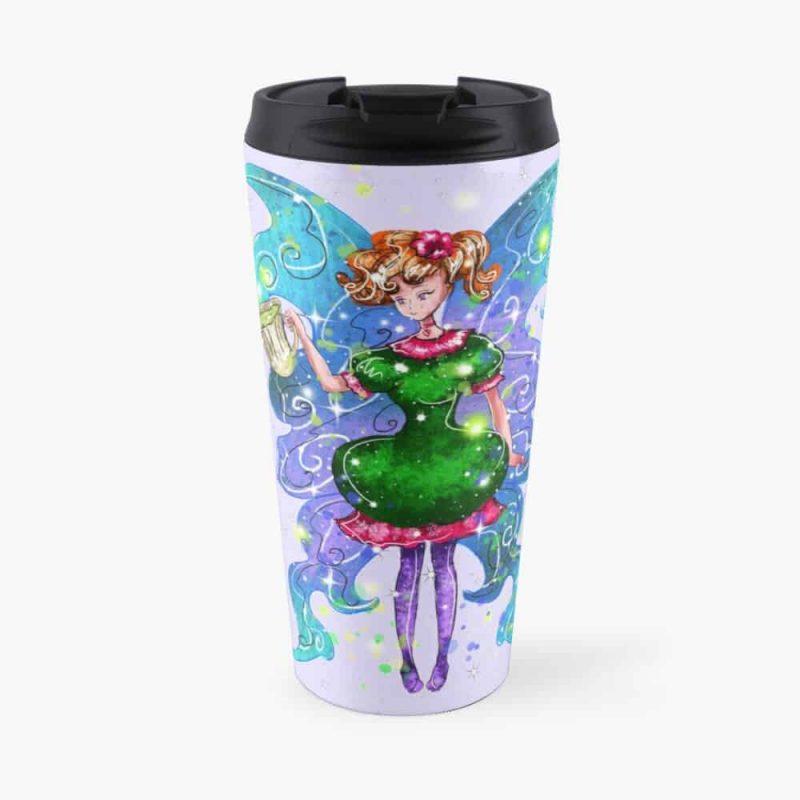 Tyra The Teacup Fairy™ Travel Mug