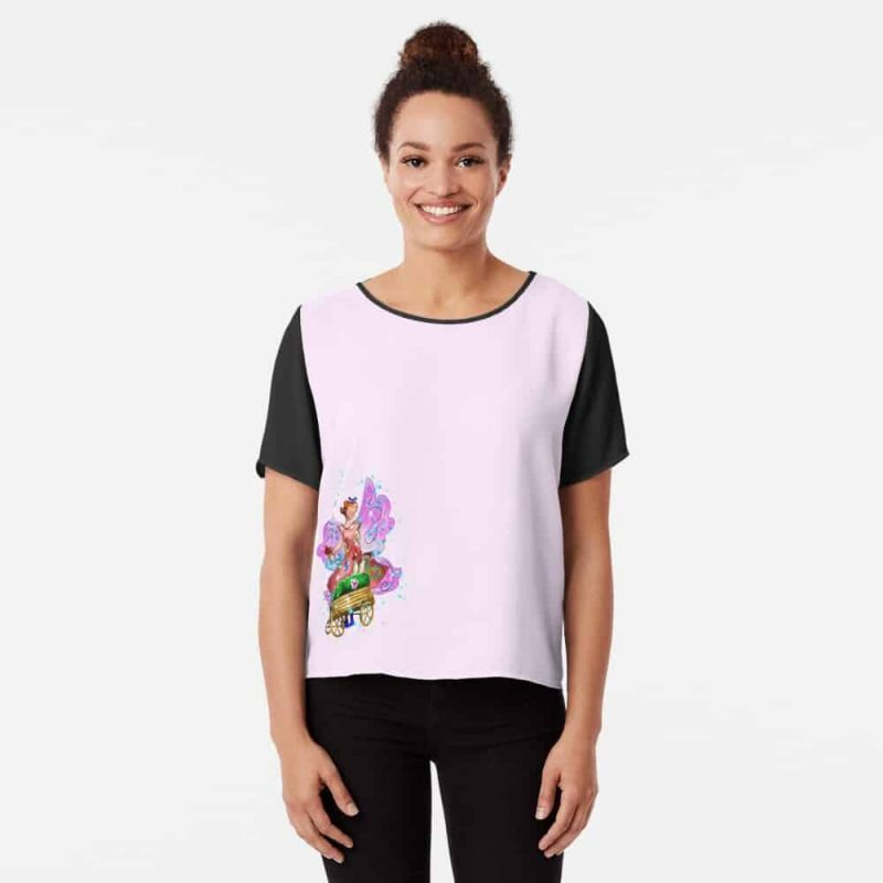 Wagonia The Wheelbarrows And Wagons Fairy™ Chiffon Top