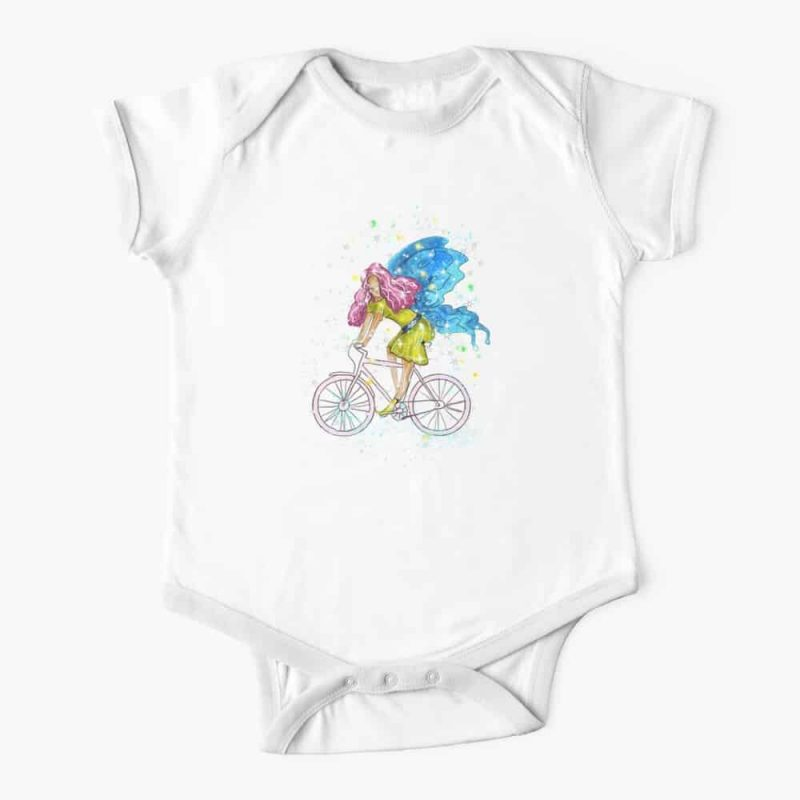 Waneta The Transportation Fairy™ Baby One Piece