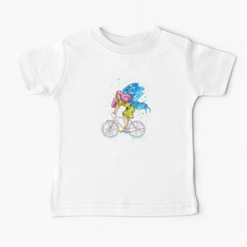 Waneta The Transportation Fairy™ Baby T Shirt