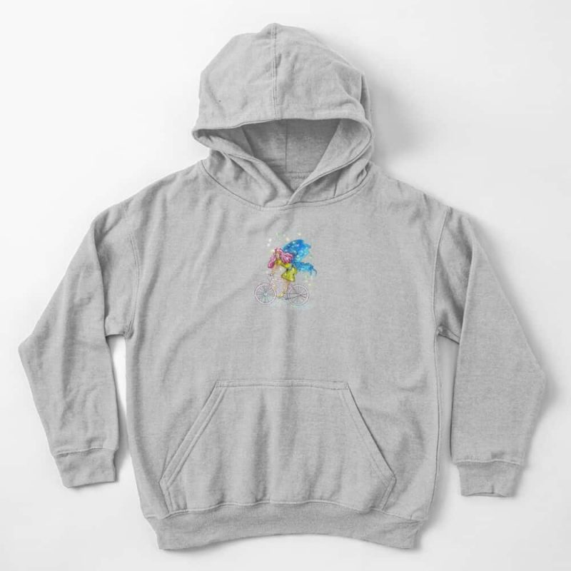 Waneta The Transportation Fairy™ Kids Pullover Hoodie