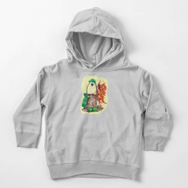 Wishitora The Wishing Well Fairy Toddler Pullover Hoodie