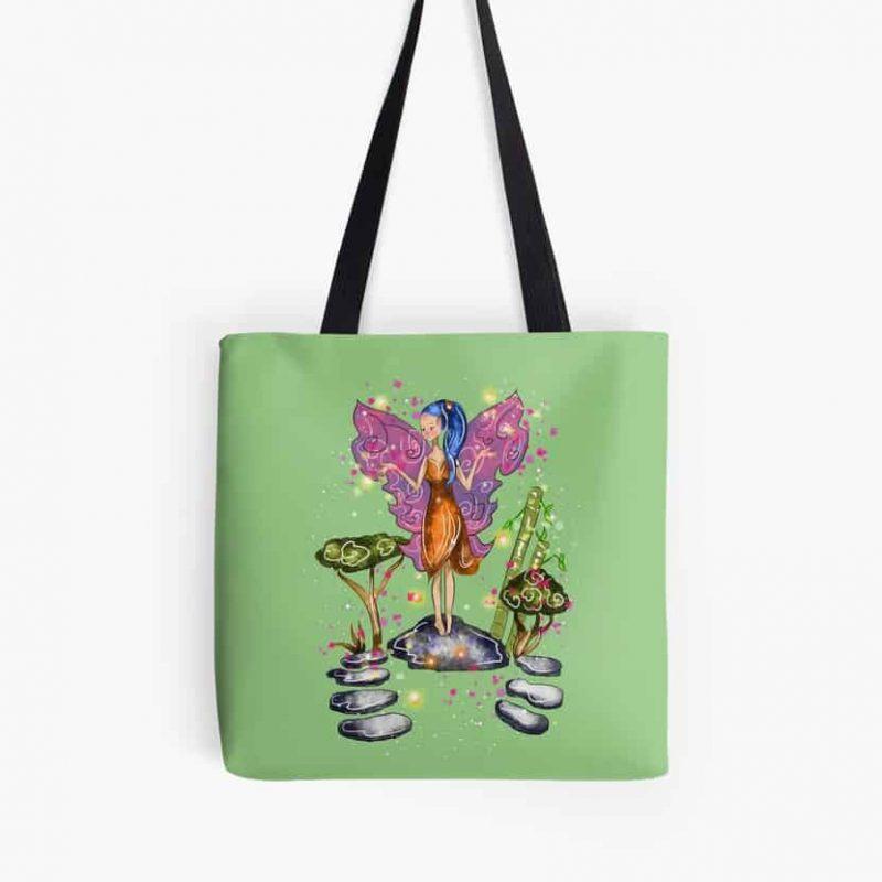 Zarina The Zen Fairy™ Tote Bag